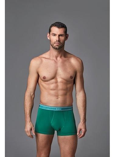 Dagi Compact Renkli Boxer Yeşil